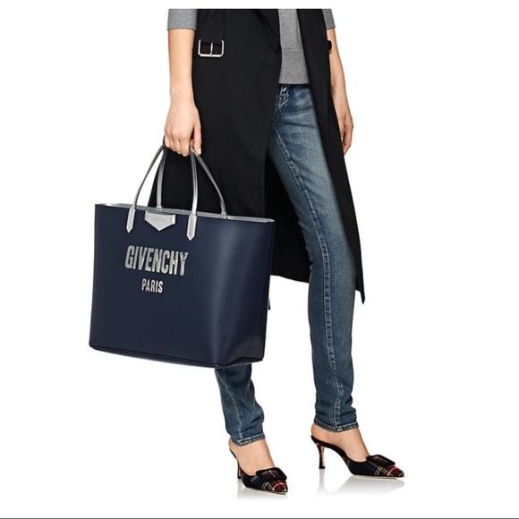Givenchy Handbags - ♥️SOLD♥️ NWT AUTHENTIC Antigona Large Navy Tote
